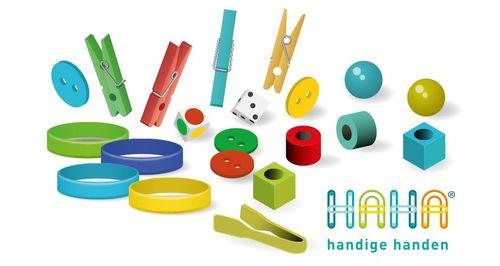 Handige Handen: speels en doordacht de fijne motoriek en de pengreepontwikkeling stimuleren